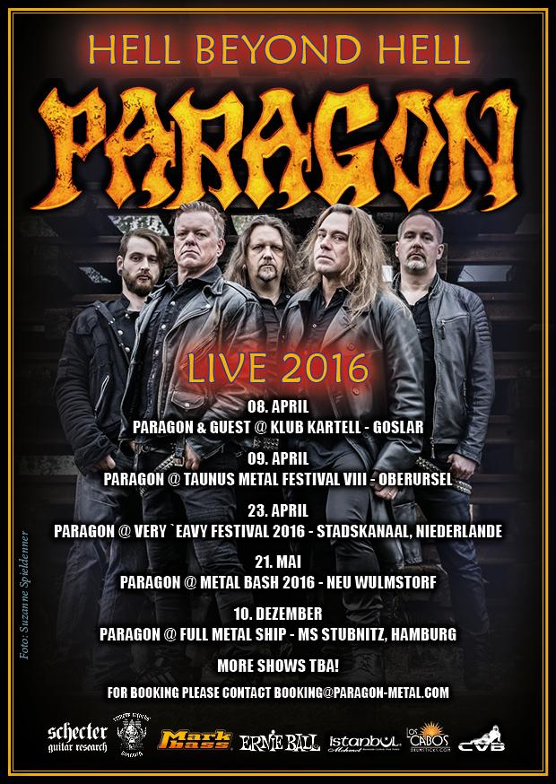 PARAGON Shows 2016